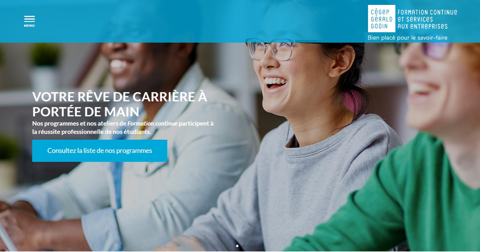 Nouveau site Web, nouvelle programmation!