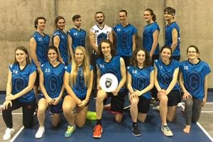 équipe ultimate frisbee