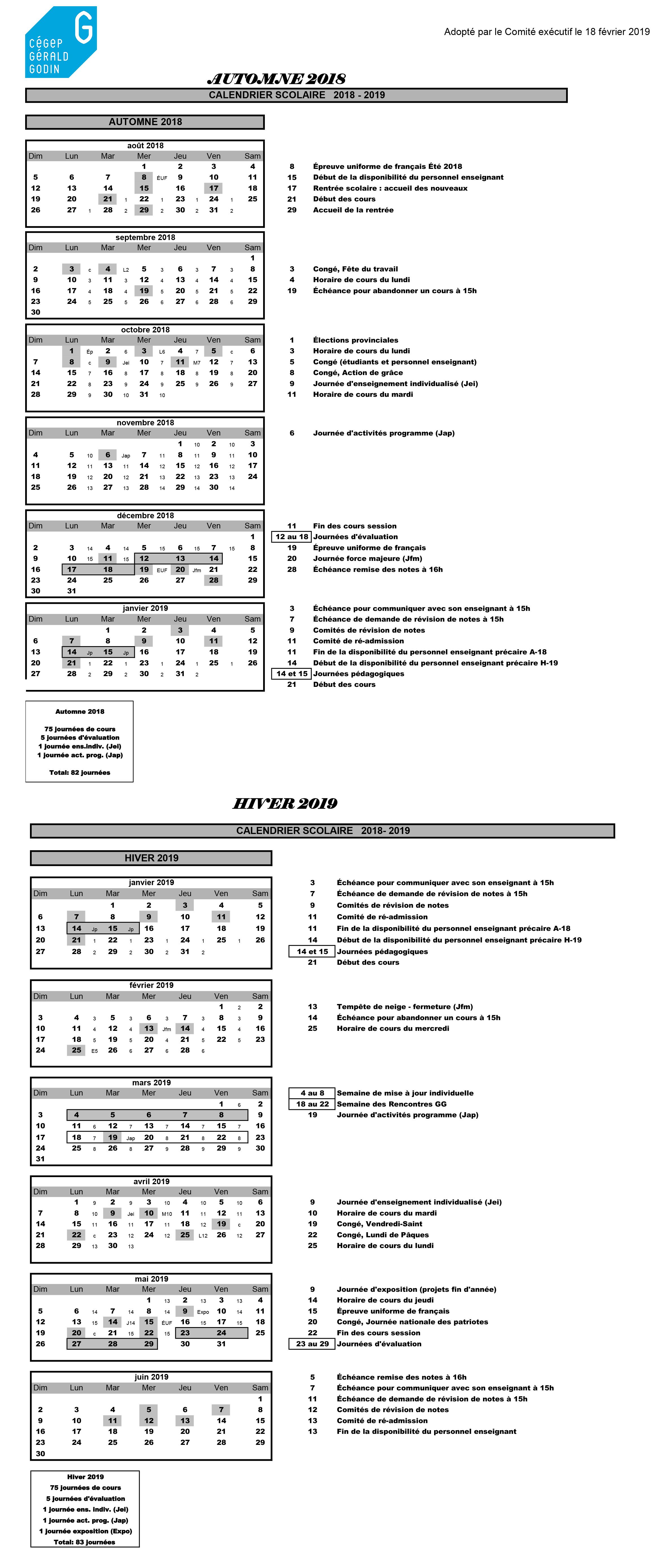 Calendrier-scolaire-2018-2019